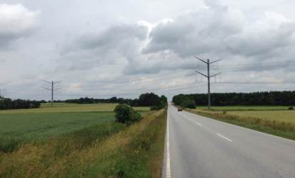 Eagle Tower Denmark for 400kV overhead lines